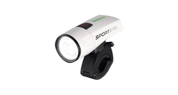 SIGMA SPORT Sportster LED Frontscheinwerfer white